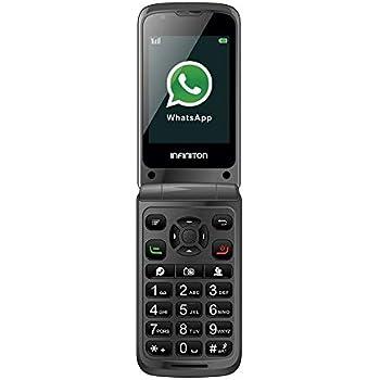 TELEFONO MOVIL F1 INFINITON (Incluye Whatsapp y Facebook, Movil ...