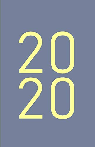 2020: Modern Gray Cover Design - Monthly & Weekly Planner / Diary / Agenda from January until December 2020, monthly grid, lined weekly pages + notes ... (Modern One Color 2020 Collection, Band 4)
