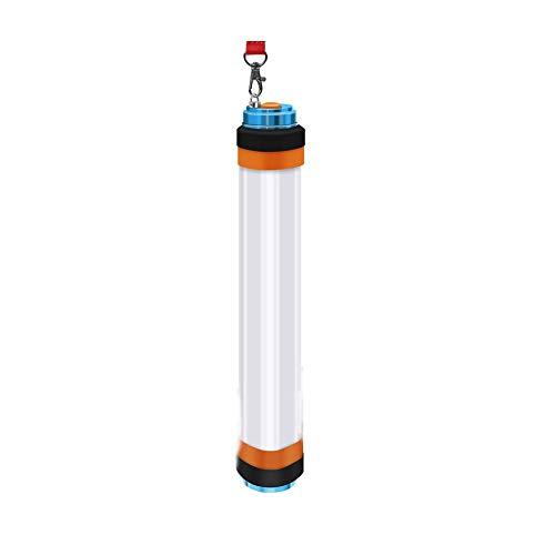 Newin Star Lanterne de Camp Rechargeable par USB Rechargeable par USB avec 8 Modes de pêche à la pêche 3 Watts (avec Batterie intégrée) 8-en-1
