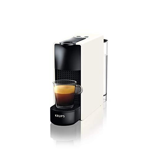 Nespresso Krups Essenza Mini - Cafetera monodosis de cápsulas (Reacondicionado) (Blanco)