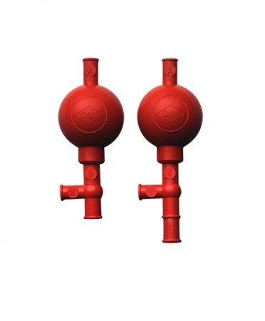 Laborshop24-4700001 - Pipettierball, Peleusball, rot, Modell Standard, drei Arbeitspunkte, für Pipetten 0,1-100 ml