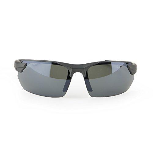 Gargoyles (10700184.QTM) Vortex Safety Glasses, Matte Metallic Graphite