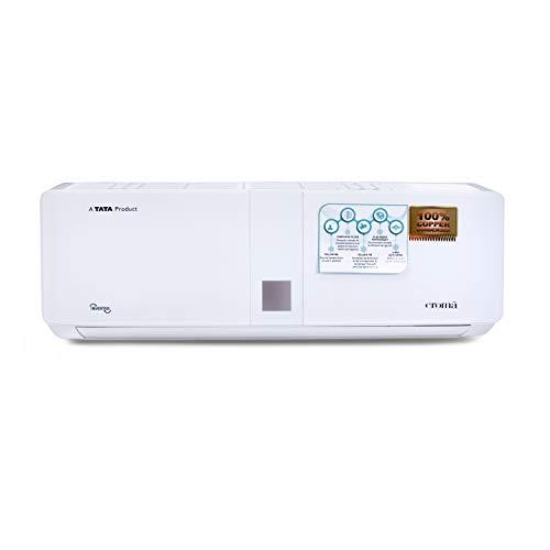 CROMA 5 Star Split Inverter AC with Installation (Copper, CRAC7554, White, 1 Ton )