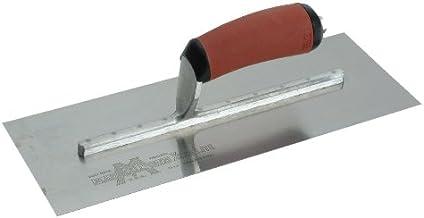 Marshalltown GT872D Flexible Extremo Mango DuraSoft 152 mm para Drywallers Ancho de la Masilla: 38 mm plata