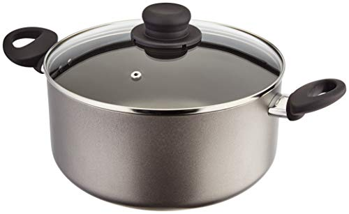 Judge Everyday JDAY044 Teflon Non-Stick Large 24cm 4.6L Casserole Pot with Lid, Stay-Cool Handles and 5 Year Guarantee