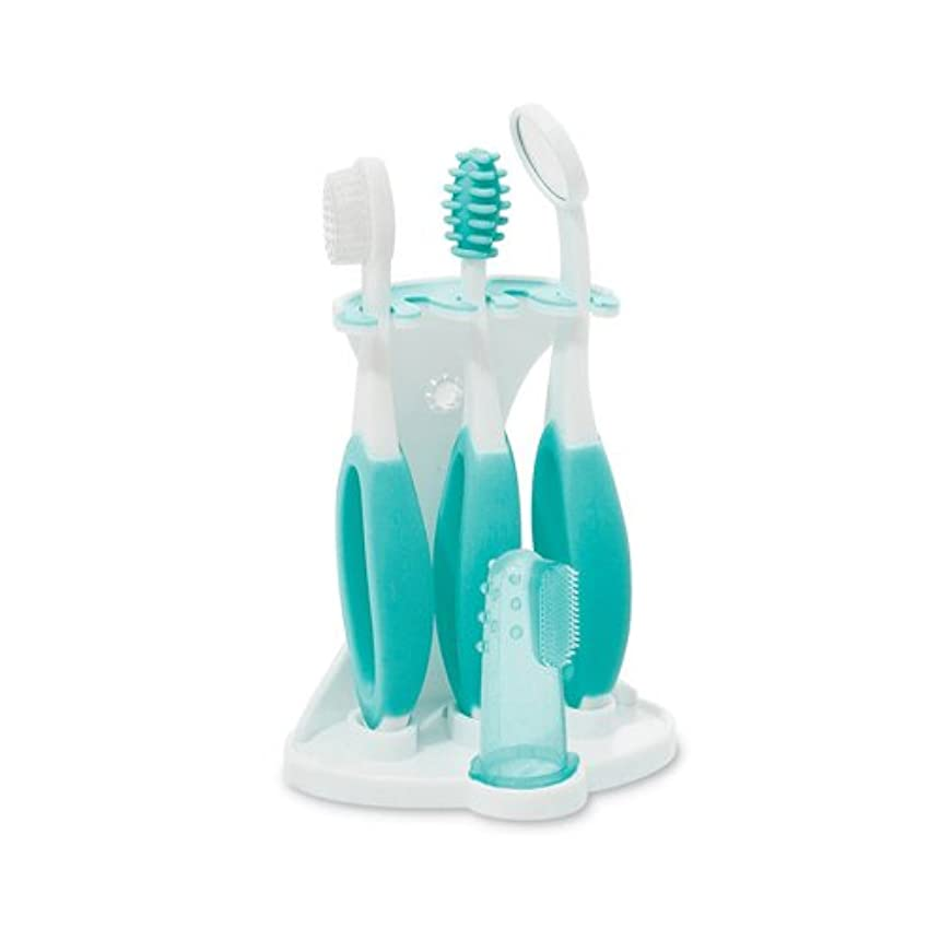 入植者投げ捨てる絶壁Summer Infant, Oral Care Kit, 5 Piece Kit