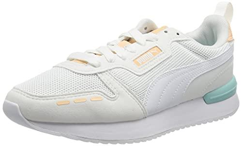 Puma R78, Zapatillas de Running Unisex Adulto, White-Limoges-Glacial, 48.5 EU