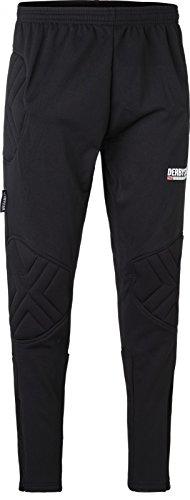 Derbystar 10er Paket Kai Pro II Torwarthose Fußball Torwartbekleidung -schwarz-, Größe:XXL, Farbe:schwarz