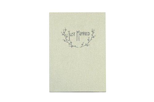 Leporello Fotoalbum Glückwunschkarte Hochzeit Just Married