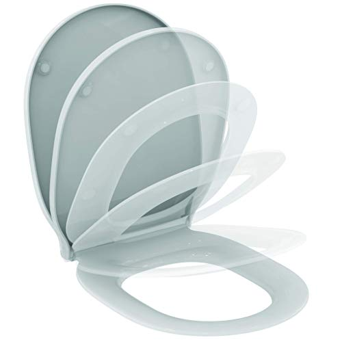 Ideal Standard E036801 Connect Air WC-Sitz mit Softclosing, Wrapover
