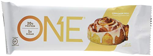 Oh Yeah! Nutrition Cinnamon Roll One Bars - Pack of 12