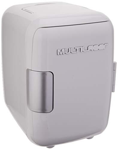 Multilaser Mini Geladeira 4L 12V 127V Capacidade 6 Latas De 350Ml Com Cabo Dc Sem Cabo Ac Branca - Tv009