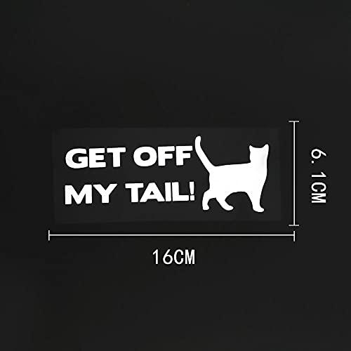 WZJH 1 6CMX6.1CM BEGISE DE MI Tai Cat Animal Vinyl Etiquetas DE Coche DE LA Etiqueta Negro/Plata (Color Name : Silver)