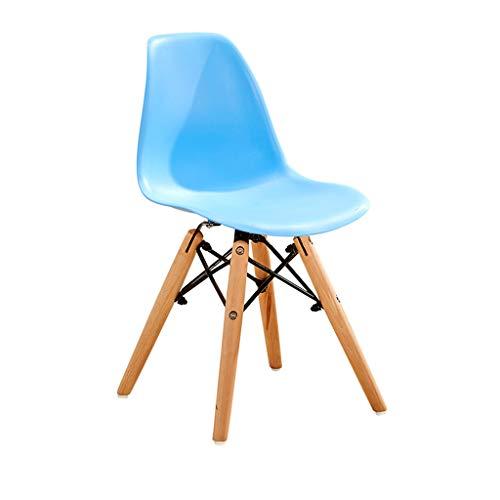 Barkruk hoge stoel kinderen bureaustoel, eetkamerstoel van roze keukenstoel gemaakt van hout wit grijs, voor slaapkamer, woonkamer, keuken, eetkamer, café, bar (grootte: 30,5 * 28 * 57cm) R
