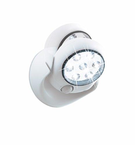 EASYmaxx 05592 LED-Spot mit Bewegungsmelder selbstklebend kabellos, weiß