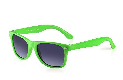 Miuno Miuno® Kinder Sonnenbrille Polarisiert Polarized Etui 6833a (Grün)