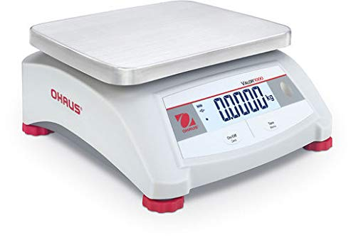 Báscula de control Ohaus Valor 1000 – V12P15 hasta 15 kg – 2 g exacto – no se puede rociar