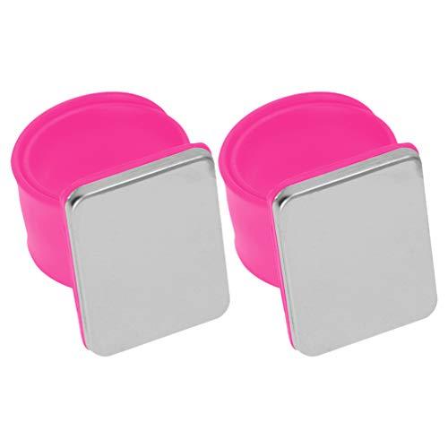 HEALLILY Broches de Muñeca Magnéticos Broches para Coser Broches para El Pelo Agujas de Coser 2 Piezas