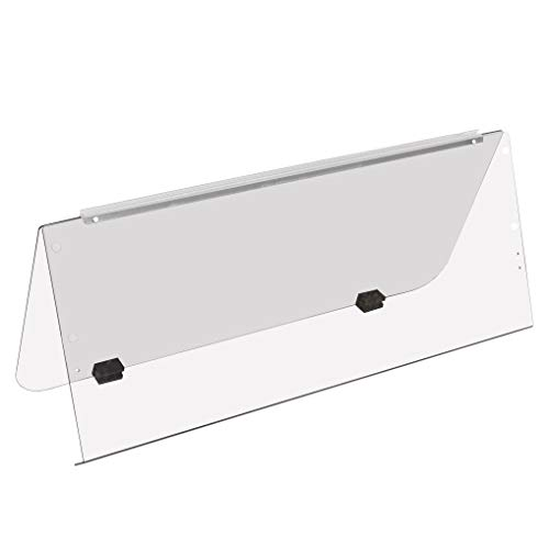ECOTRIC G14 G16 G19 (1995-2003) Clear Fold Down Windshield for Yamaha Gas and Electric Golf Cart