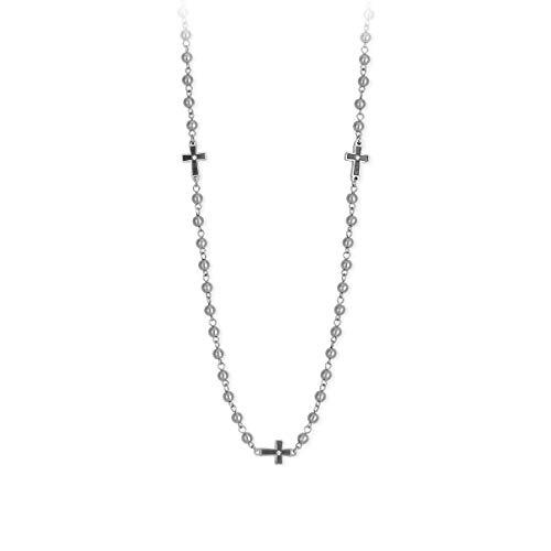 2 jewels 251678 collana uomo in acciaio 316L collezione Faith