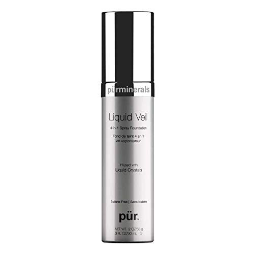 PUR Cosmetics Liquid Veil Airbrush Foundation in Tan, 3 Fl Oz