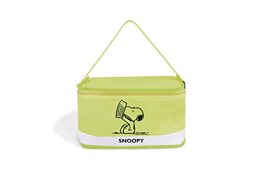 Excelsa Peanuts Lunch Box Snoopy, Poliestere, Verde