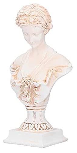 WSJF Decoración del hogar Ornamento Figura Estatua Estatua, Escultura, decoración práctica, para Oficina o Estudio de la Empresa. (Color : Bs1022 Antique Color Large)