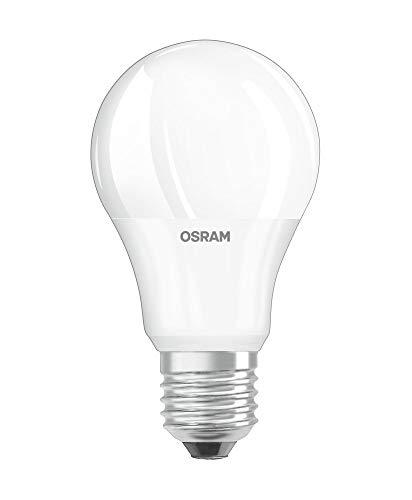 OSRAM Daylight Sensor Classic A Lampadina LED, Attacco: E27, Bianca Calda, 2700 K, 11 W, Equivalenti a 75 W, LED STAR MOTION SENSOR CLASSIC A, Opaco, Taglia Unica