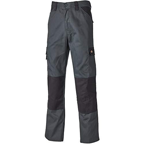 Dickies Everyday 24/7 Arbeitshose, passend zu SH2007 Shirts UVM (Grau/Schwarz, 46)