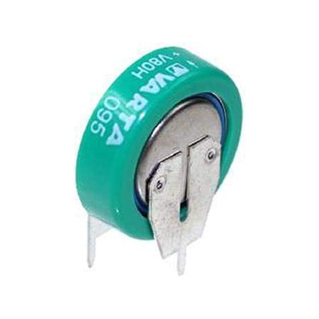 Varta V 80 H Knopfzellen Akku 80h Nimh 80 Mah 1 2 V 1 Elektronik
