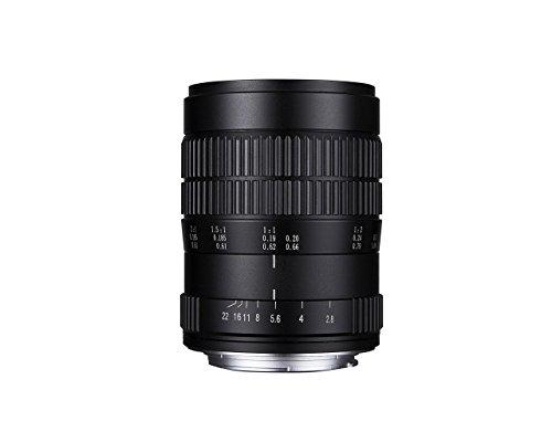 Laowa VEN6028C - Objetico de 60 mm para cámara Canon, f/2.8 2X, Color Negro