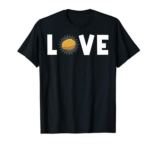 Regalo divertido de la patata para los hombres y las mujeres lindo patata Tater Spud Lover Camiseta