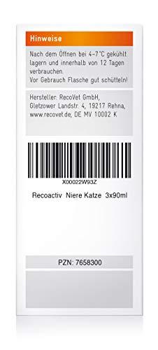 RECOACTIV® Nieren Tonicum für Katzen – Kurpackung 3×90 ml - 4