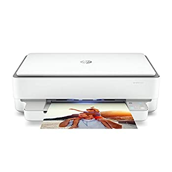 HP ENVY 6055 Wireless All-in-One Printer Mobile Print Scan & Copy Works with Alexa  5SE16A
