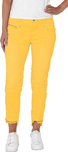 Buena Vista - Damen Hose Anna C 7/8 Stretch Twill mit Nieten - Größe M