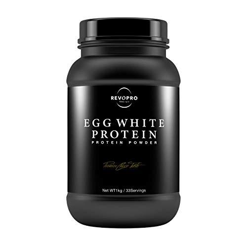 『REVOPRO(レボプロ) EGG WHITE PROTEIN (卵白プロテイン) チョコレート味 1kg』の1枚目の画像