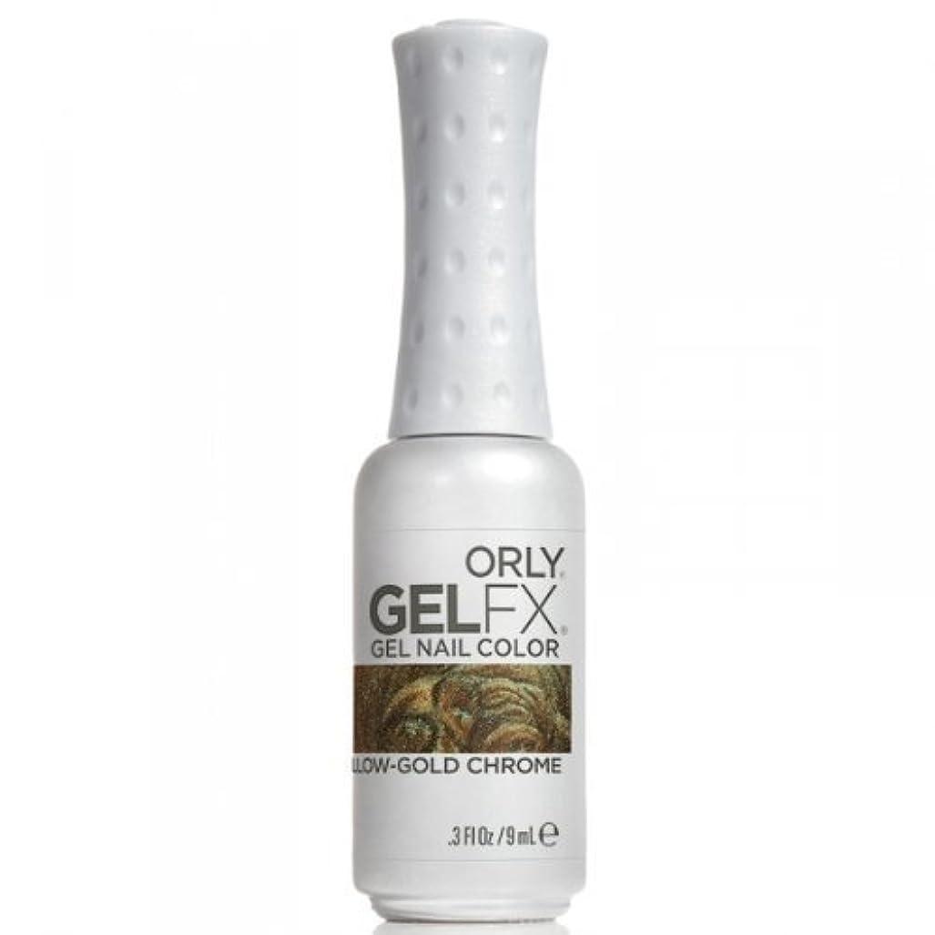 入り口深い忠誠Orly GelFX Gel Polish - Yellow-Gold Chrome - 0.3oz / 9ml
