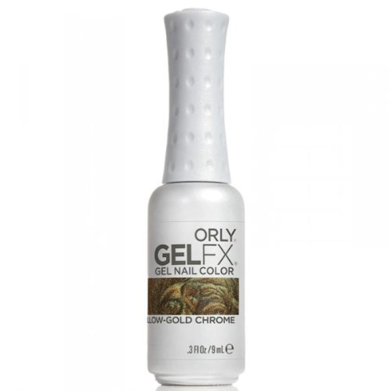 繰り返すアーティキュレーション節約Orly GelFX Gel Polish - Yellow-Gold Chrome - 0.3oz / 9ml