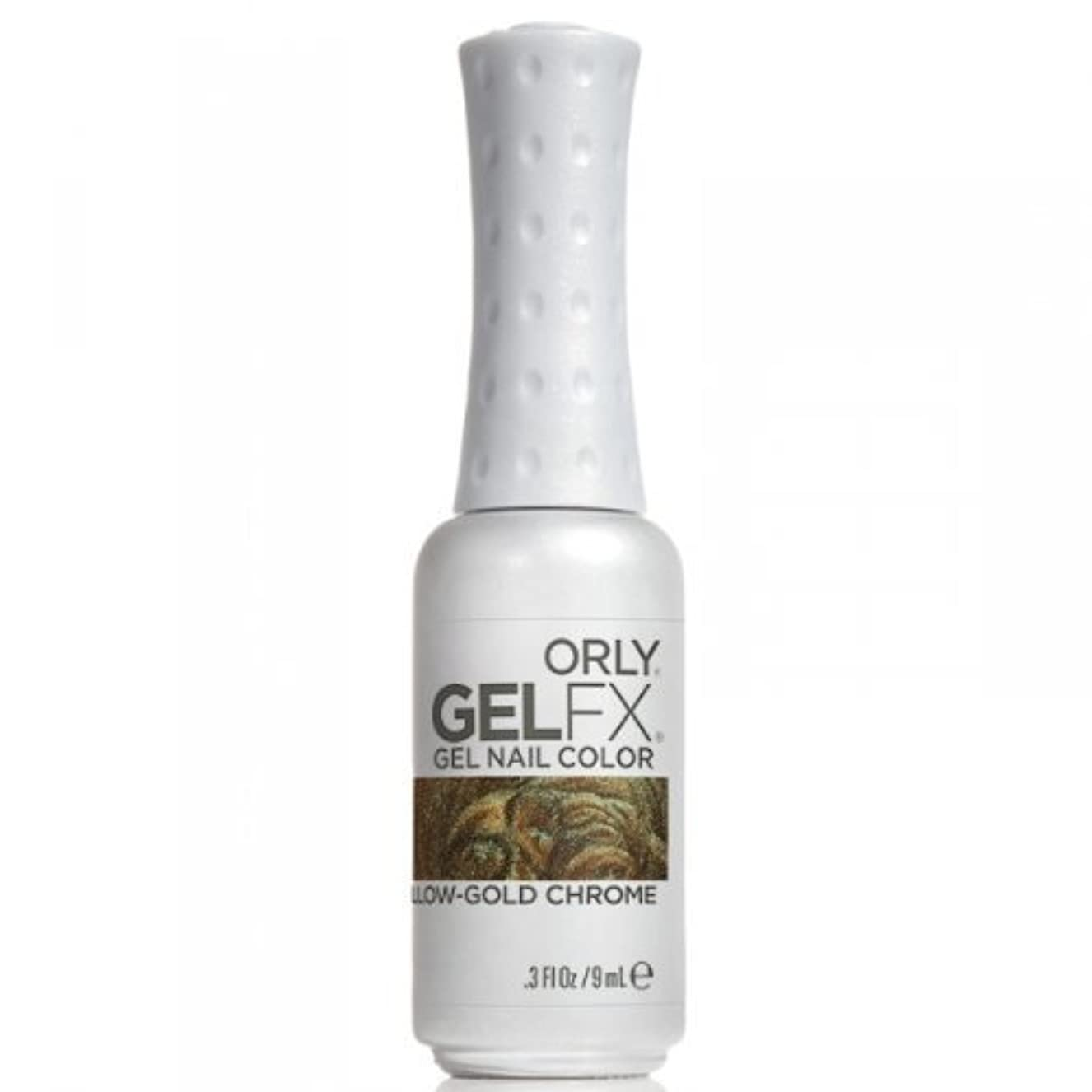 僕の一過性耐えられないOrly GelFX Gel Polish - Yellow-Gold Chrome - 0.3oz / 9ml