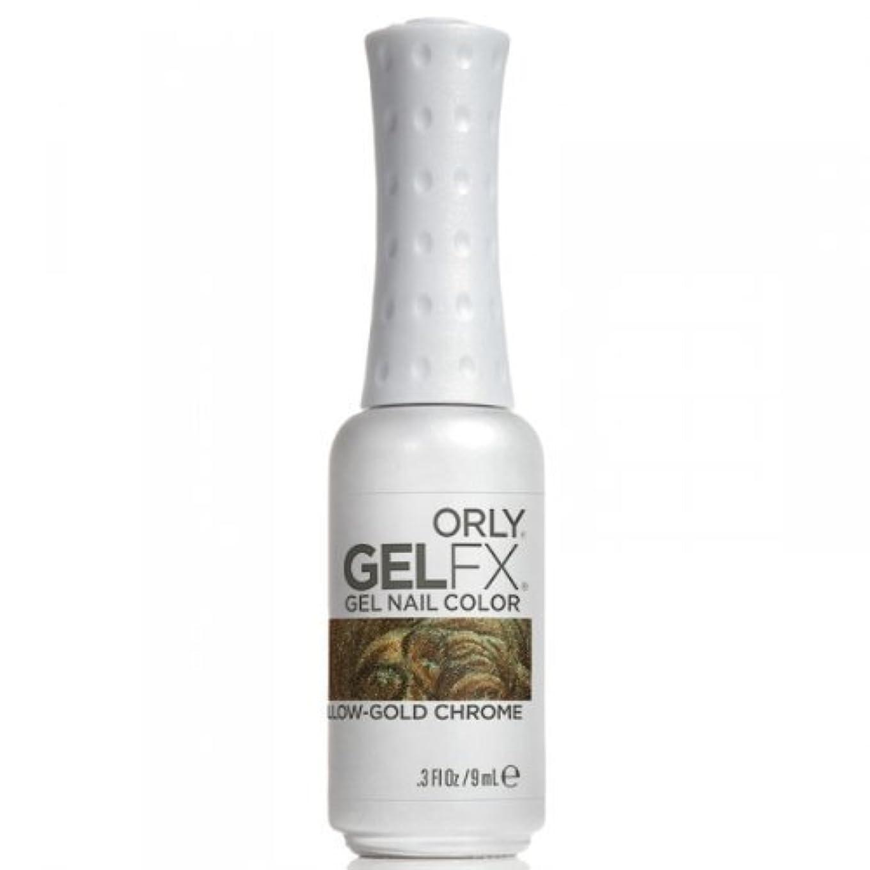 親機知に富んだ顕現Orly GelFX Gel Polish - Yellow-Gold Chrome - 0.3oz / 9ml