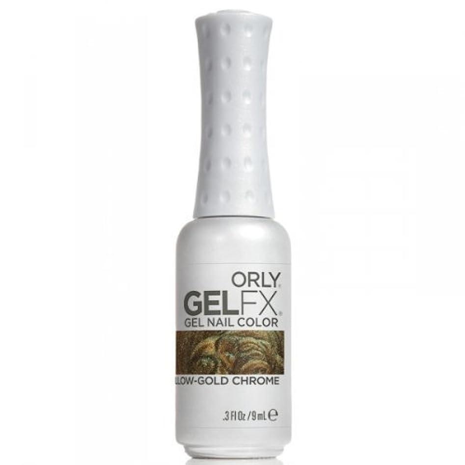 机ピラミッド寂しいOrly GelFX Gel Polish - Yellow-Gold Chrome - 0.3oz / 9ml