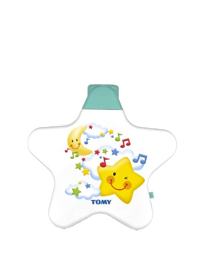 TOMY First Years Starlight Dream Show Baby Night Light Projector | Gentle Baby Soother Nursery Night Light with Lights & Sounds | Suitable for Boys & Girls from 0 - 6 Months
