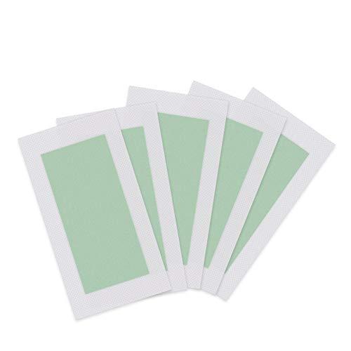 Kybbe Wax Strips 20 / PCS Kit d'épilation professionnel pour les bras Jambes Aisselles Cheveux Sourcils Bikini Rapide et facile Papier dépilatoire lon