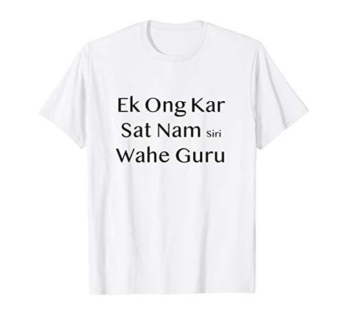 Kundalin Yoga Mantra Ek Ong Kar Sat Nam Siri Wahe Guru T-Shirt