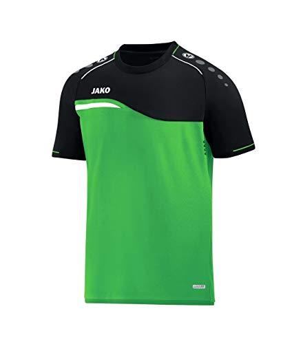 JAKO T-Shirt Competition 2.0, Größe:XL, Farbe:Soft Green/schwarz