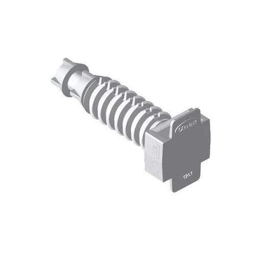 Unex 1253-3 - Taco presión u63x diámetro 6mm poliamida 6 gris