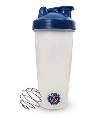 Paris Saint - Germain PS04528 Botella de plástico para batidora de proteínas, Infantil, Multicolor, No se Aplica