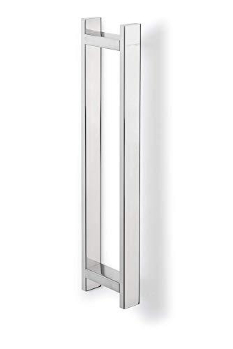 Sagittarius One 400S1 Gästehandtuchhalter | Handtuchhalter Edelstahl 40cm | Handtuchstange Rostfrei SUS304 | Wand Handtuchhalter Bad Chrom Poliert | Bad Handtuchhalter Wand