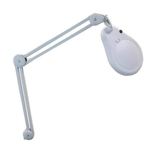 ☆ Lupenleuchte Swinger LED 3 Dioptrien ideal für den professionellen Salon / 60 LED-Leuchten/mit großer Linse von 12,7 cm