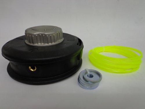 Ratioparts Easy Load Halbautomatik Durchmesser Faden 3 mm, Außendurchmesser 130 mm, bolzenlos Fadenkopf, schwarz